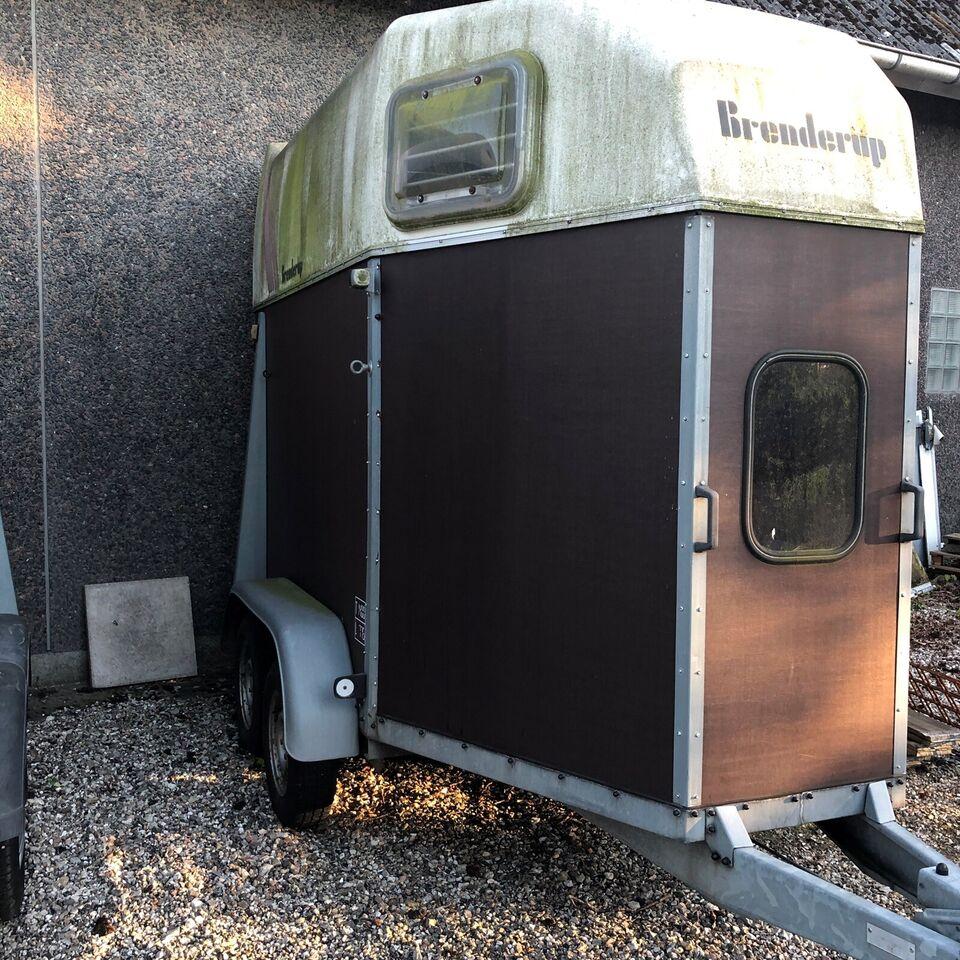 Hestetrailer, Brenderup 33, lastevne (kg): 725