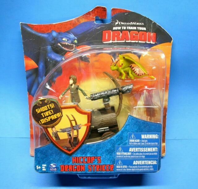 How To Train Your Dragon Movie Series 3 Deluxe 7 Inch Action Figure Night Fury Version 3 Shoots Spin Master