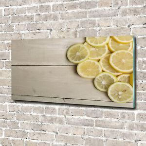 Glas-Bild-Wandbilder-Druck-auf-Glas-140x70-Deko-Essen-amp-Getraenke-Zitronenholz