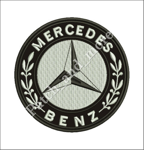 patch MERCEDES BENZ auto VINTAGE 1926 diam 6 cm patch embroidery REPLICA 1054