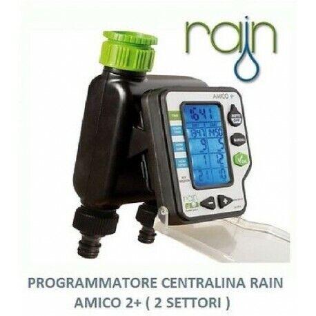 PROGRAMMATORE CENTRALINA DIGITALE A BATTERIA RAIN ORBIT AMICO 2 PIU/' IRRIGAZIONE