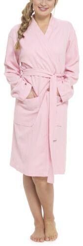 Foxbury Ladies Pure Cotton Waffle Robe