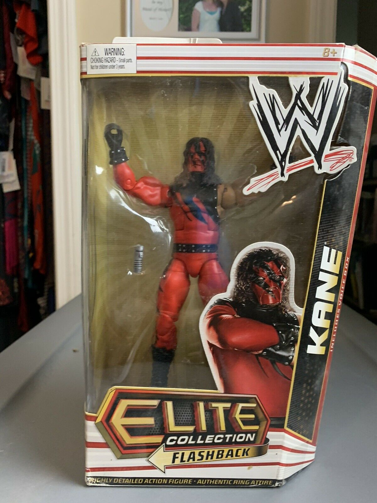 WWE Elite Flashback Colección Kane Serie 12 Mattel 2011
