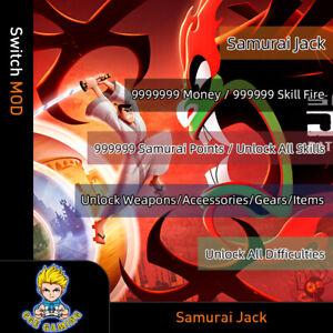 Samurai-Jack-Battle-Through-Time-Switch-Mod-Max-Money-Skill-Fire-Points-Weapon