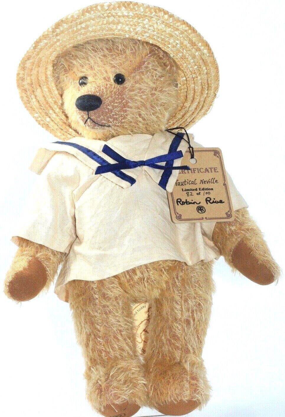 Teddy Bears-Robin Rive * Nautico Neville * N. 82 del 100 EDIZIONE LIMITATA