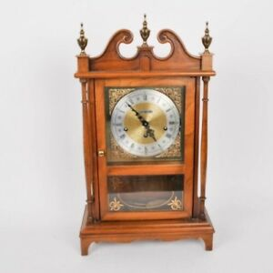 Image Is Loading Pillar And Scroll Howard Miller Mantel Clock With