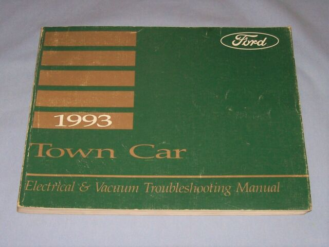 1993 Lincoln Town Car Electrical  U0026 Vacuum Troubleshooting