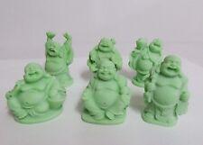 "6 Cutie 2"" Happy Chinese Buddha Fortune Monk Glow In Dark Style B"
