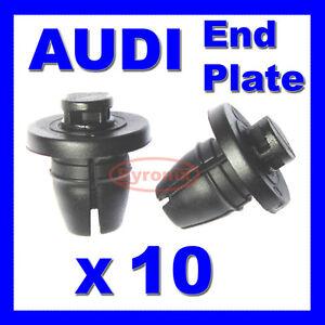 Audi-Rueda-Interior-Arco-Protector-de-salpicaduras-ala-final-placa-de-recorte-de-clips-A1-A4-A5-A6