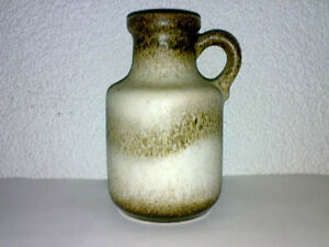 Vase-Scheurich-WGP-Mid-Century-60s-70s-Keramik-414-16