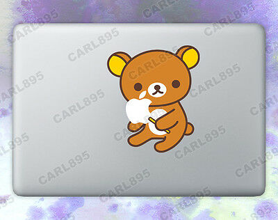 San-X Rilakkuma (B) Color Vinyl Sticker for Macbook Air/Pro