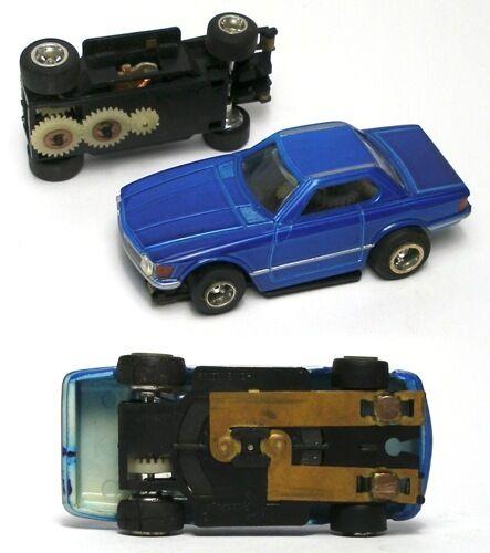 4 1975 Vintage Aurora XLerator TCR HO Slot Car Standard Tires Unused Old Stock