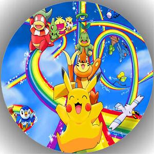 Oblate Pokemon L64 Tortenaufleger Geburtstag Party Tortenbild Fondant