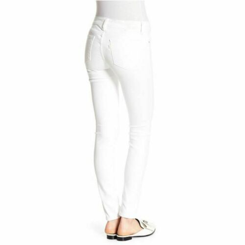 Soft Fashionbukser Jeans Women's Hvide Clean Levi's Skinny w1Yfnqt