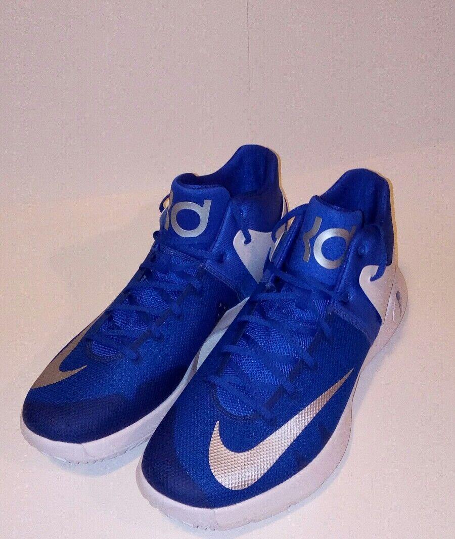 best-selling model of the brand Nike KD Trey 5 IV EP 4 Kevin Durant Men's 856484-441 Blue/White 17.5 M Sneaker