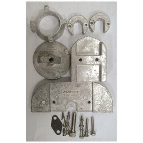 Aluminium Zink Anode Set Set Set Mercruiser Alpha I 1 gen II Outdrive Komplett Mil-Spec 117fc9