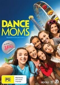 Dance-Moms-Season-6-Collection-1-DVD-NEW-Region-4-Australia