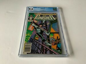 PUNISHER 1 CGC 9.2 WHITE PAGES NEWSSTAND EDITION MARVEL COMICS 1987 Q