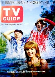 TV-Guide-1966-Gilligan-039-s-Island-Tina-Louise-Bob-Denver-Alan-Hale-689-EX-NM-COA