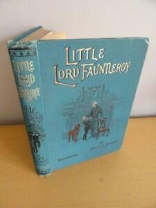 1904-LITTLE-LORD-FAUNTLEROY-BY-BURNETT-PUB-WARNE-ILLUS-NEW-YORK-ERROL