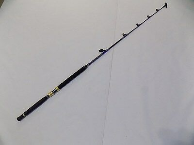 Travel 2 Piece Std Guide Troll Fishing Rod St 2 30-50 Davis Big Game Saltwater