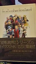 The Art Of Gyakutensaiban Phoenix Wright Ace Attorney Gyakuten Saiban artbook