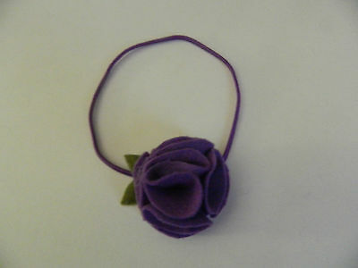 Pom Pom Flower Felt Girl Headband