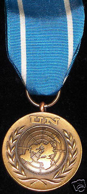 ORIGINAL UNITED NATIONS medal your choice of ribbon