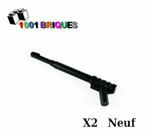 Lego 13591 x2 Arme Harpon Weapon Spear Gun Noir//Black