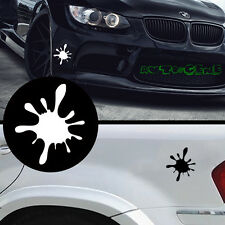 1 JDM Funny Splash-ink Window Or Body Vinyl Motorcycle Laptop Car Sticker Decal