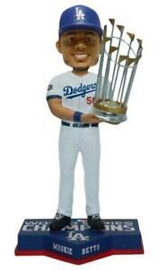 Mookie Betts Los Angeles Dodgers 2020 World Series Champions Bobblehead MLB