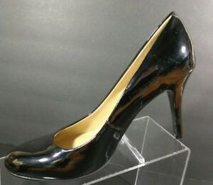Nine-West-Ambitious-Women-039-s-Classic-Black-Patent-Leather-Pumps-Round-Toe-Size-8