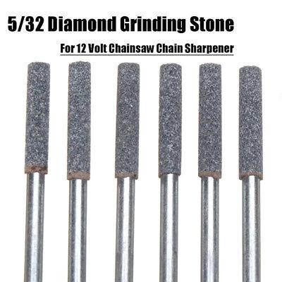 Für 12V Kettensäge Werkzeug 6x Diamant Schleifer Schleifstein 4.0mm 5//32