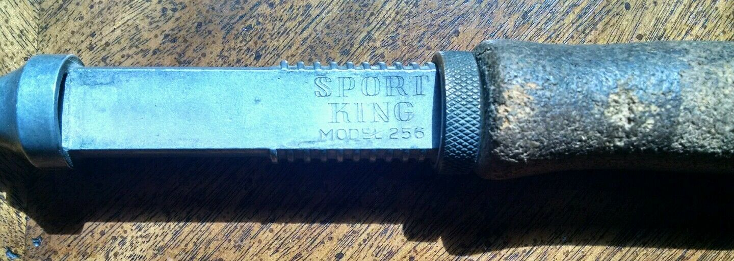 Vintage Sport King Model 256 Collapsible Telescoping Fishing Rod Spin Fly Combo