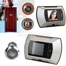 2.4inch LCD Digital Ring Monitor Door Peephole Viewer Camera Cam Jingle Doorbell