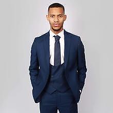 9fdfda5084d6 Mens Floretti Marcelo Navy Wool Slim Fit 2/3pc Suit - Quick Sale | eBay