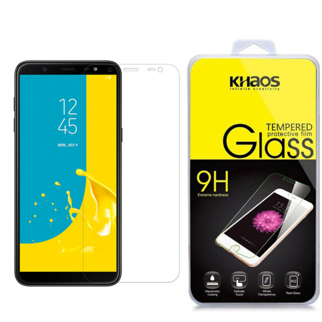 Khaos For Samsung Galaxy J6 2018 Tempered Glass Screen Protector