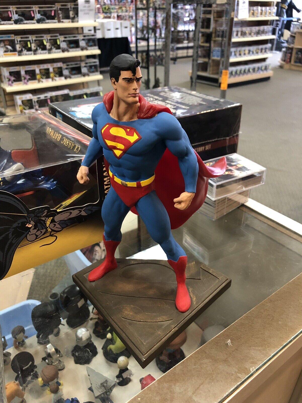 Full Size SUPERMAN Statue Bowen Graphitti Seinfeld Figure Maquette DC Comics