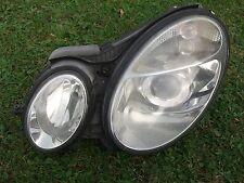 2003 - 2006 MERCEDES W211 E320 E500 LEFT PASSENGER HEADLIGHT XENON COMPLETE
