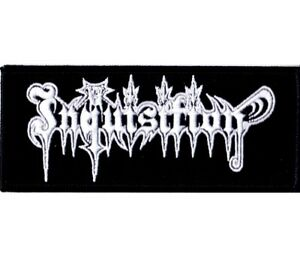 Inquisition-Embroidered-Logo-Patch-Official-Black-Metal-Band-Merch-New