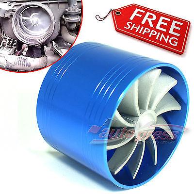 AIR INTAKE DUAL FAN K Turbo Supercharger Turbonator Gas Fuel Saver MERCEDES BENZ