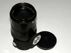 Rare-Carl-Zeiss-Jena-Sonnar-2-8-180mm-Olympic-Olympia-Lens-Exakta-Excellent