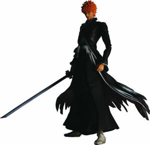 Play Arts Kai Bleach Ichigo Kurosaki PVC Action Figure Statue New In Box