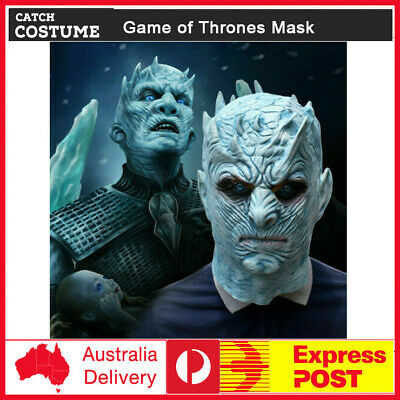 The White Walker Night/'s King Latex Mask Halloween Party Cosplay Prop One Size