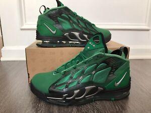 timeless design 11174 5dda5 Image is loading Nike-Air-Max-Pillar-Pine-Green-Metallic-Silver-