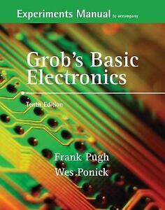 Details about Experiments Manual and Simulation CD to accompany Grob's  Basic Electronics, Poni