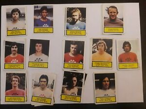 lot-of-85-different-stickers-football-75-76-reims-monaco-lens-lille