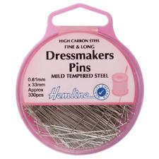 Hemline 30mm Fine Dressmakers Pins H701