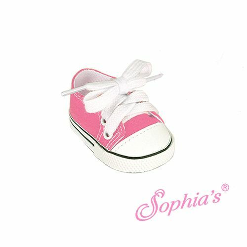 """Doll Clothes 18/"""" Sneakers Shoes Pink Sophia Fits American Girl Dolls"""