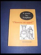 """Esotérisme Le procès des templiers Raymond Oursel """"l'histoire en appel"""" 1959"""